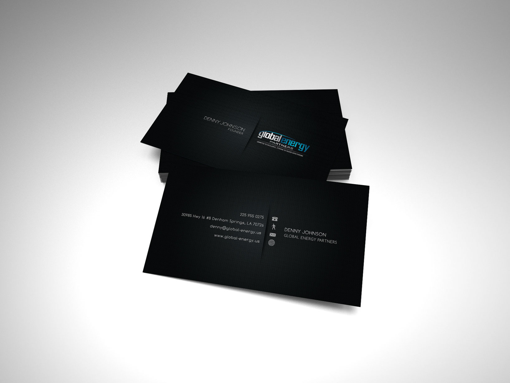 Business Card Design Oil and Gas – Recognize