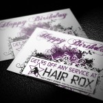 Hair Salon Postcard Design Baton Rouge