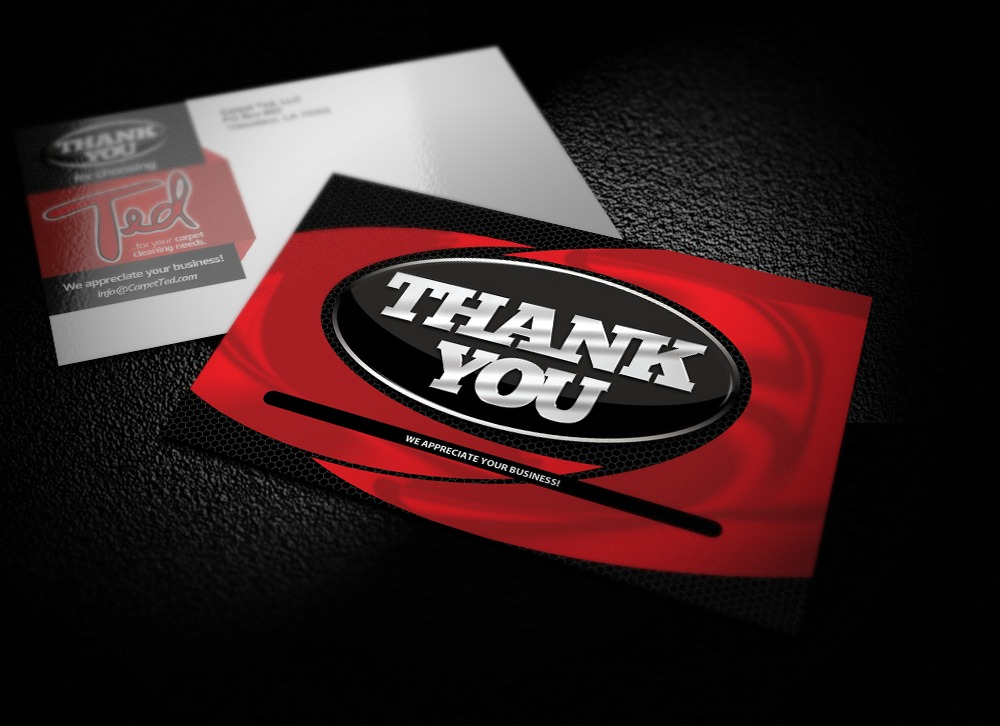 Thank You Postcard Design