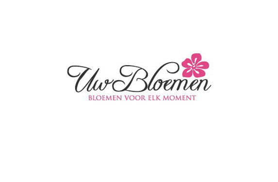 Pink Flower Logo Design
