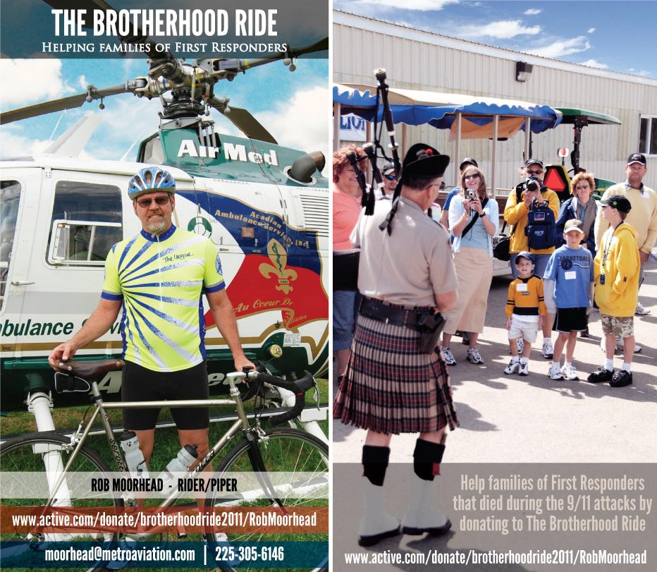 911 Charity - The Brotherhood Ride