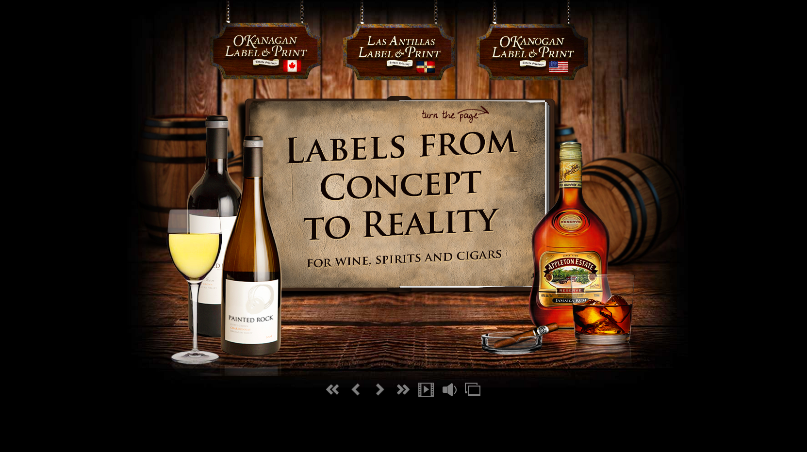 Wine Website Design
