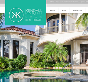 <span>Real Estate Website Design</span><i>→</i>