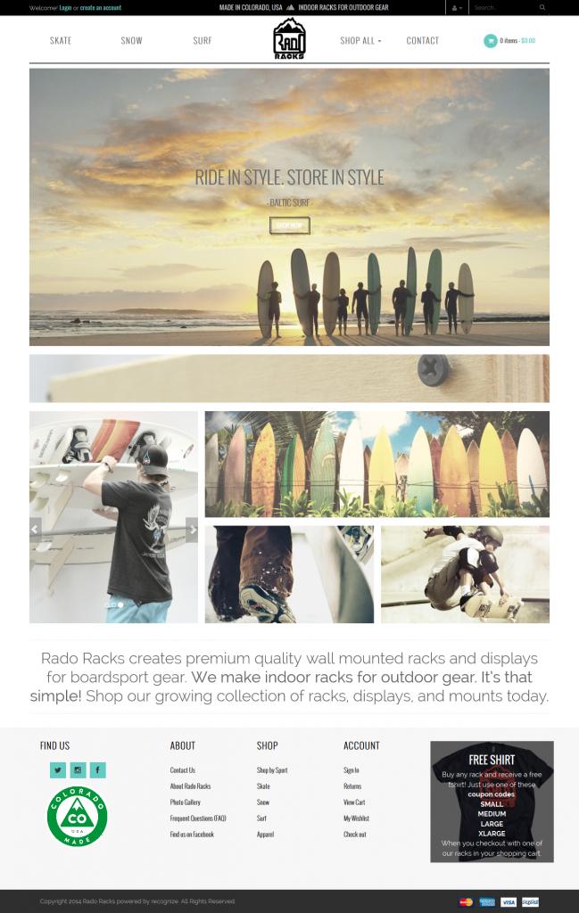 WooCommerce Clean Website Design
